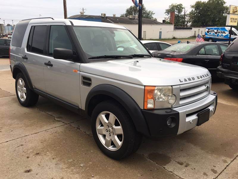 2006 Land Rover LR3 for sale at RamKnick Motors LLC in Pekin IL