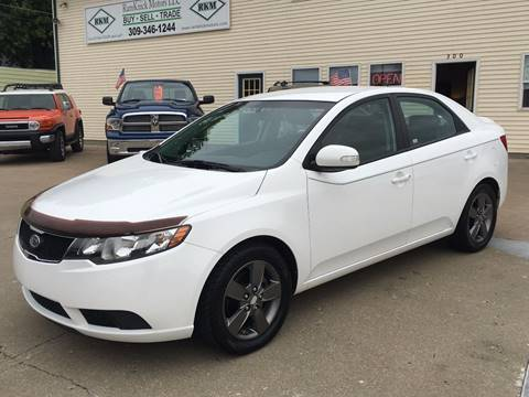 2010 Kia Forte for sale at RamKnick Motors LLC in Pekin IL
