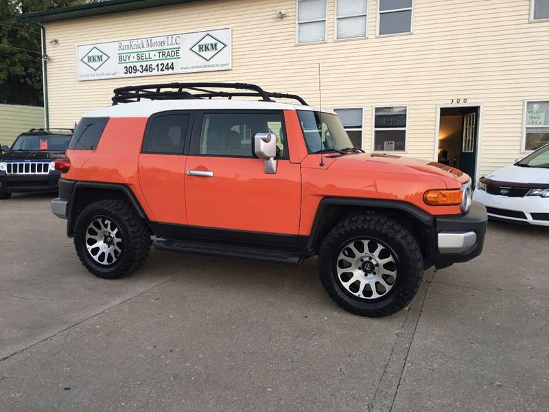 2014 Toyota FJ Cruiser for sale at RamKnick Motors LLC in Pekin IL
