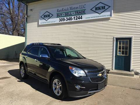 2011 Chevrolet Equinox for sale at RamKnick Motors LLC in Pekin IL