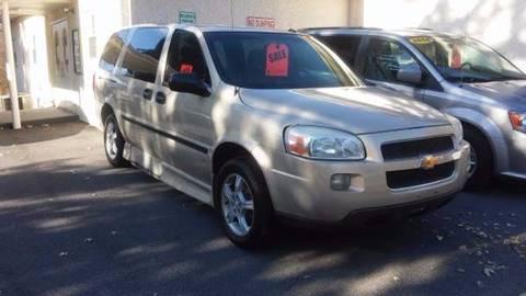2007 Chevrolet Uplander for sale in Plains, PA