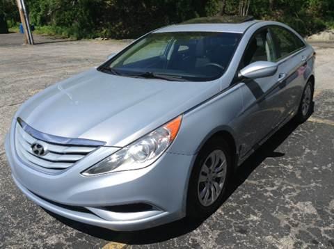 2011 Hyundai Sonata for sale at DISTINCTIVE MOTOR CARS UNLIMITED in Johnston RI