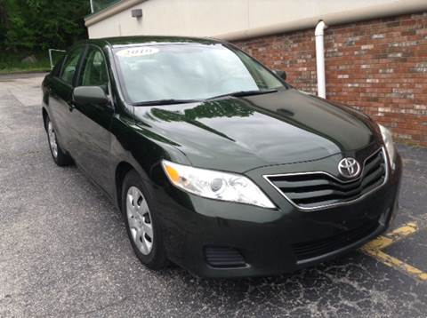 2010 Toyota Camry for sale at DISTINCTIVE MOTOR CARS UNLIMITED in Johnston RI