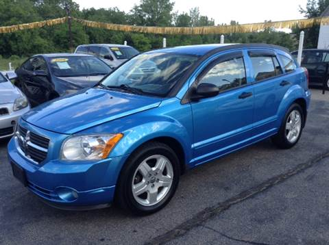 2008 Dodge Caliber for sale at DISTINCTIVE MOTOR CARS UNLIMITED in Johnston RI
