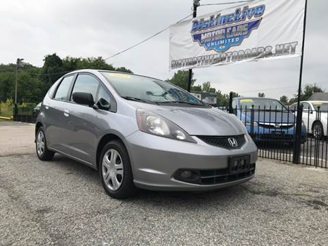 2009 Honda Fit for sale at DISTINCTIVE MOTOR CARS UNLIMITED in Johnston RI