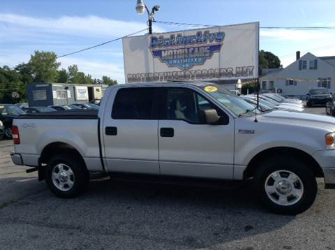 2005 Ford F-150 for sale at DISTINCTIVE MOTOR CARS UNLIMITED in Johnston RI