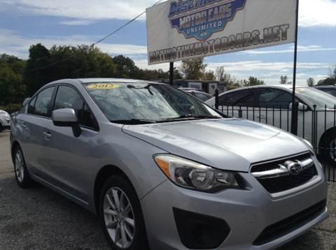 2012 Subaru Impreza for sale in Johnston, RI