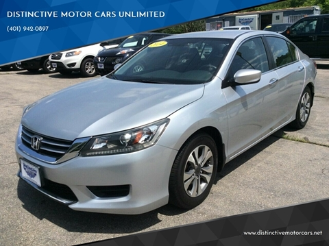 2014 Honda Accord for sale in Johnston, RI