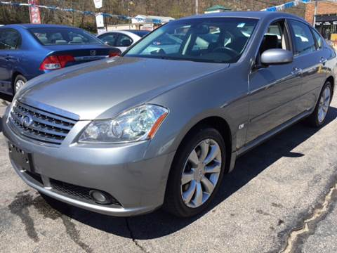 2006 Infiniti M35 for sale at DISTINCTIVE MOTOR CARS UNLIMITED in Johnston RI