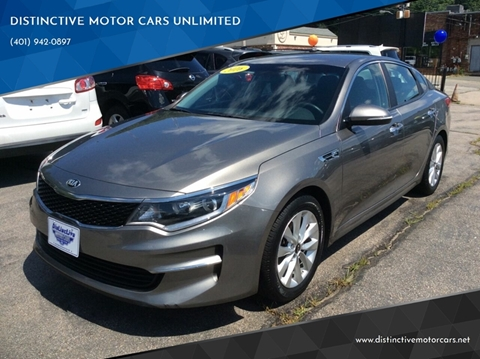 2016 Kia Optima for sale in Johnston, RI