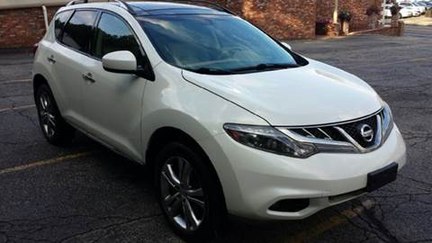 2011 Nissan Murano for sale at DISTINCTIVE MOTOR CARS UNLIMITED in Johnston RI