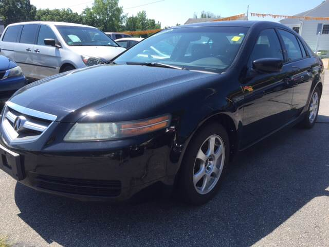2005 Acura TL for sale at DISTINCTIVE MOTOR CARS UNLIMITED in Johnston RI
