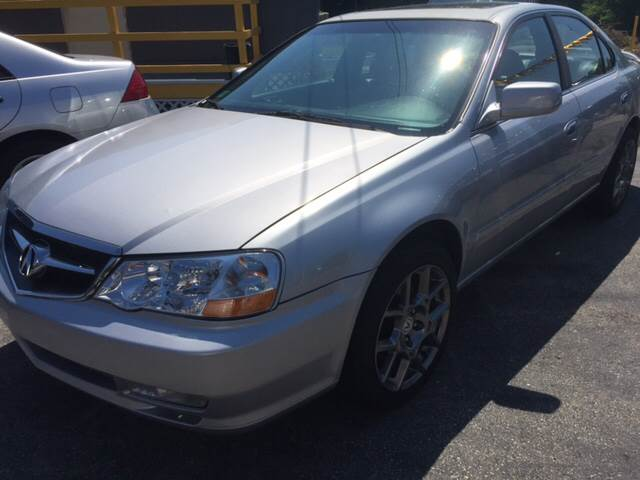 2003 Acura TL for sale at DISTINCTIVE MOTOR CARS UNLIMITED in Johnston RI