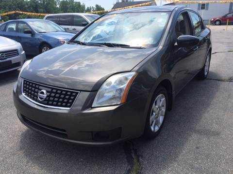 2007 Nissan Sentra for sale at DISTINCTIVE MOTOR CARS UNLIMITED in Johnston RI