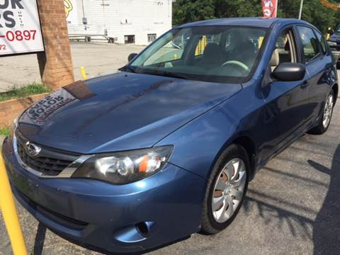 2008 Subaru Impreza for sale at DISTINCTIVE MOTOR CARS UNLIMITED in Johnston RI