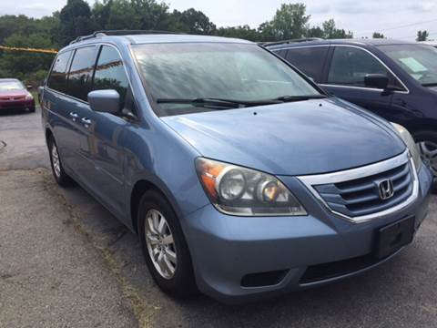 2008 Honda Odyssey for sale at DISTINCTIVE MOTOR CARS UNLIMITED in Johnston RI