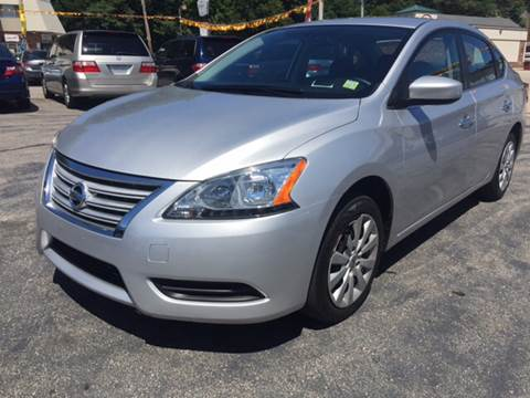 2014 Nissan Sentra for sale at DISTINCTIVE MOTOR CARS UNLIMITED in Johnston RI