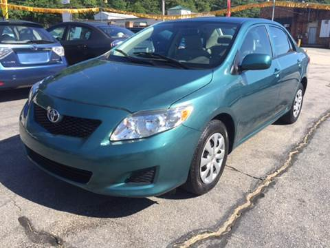 2010 Toyota Corolla for sale at DISTINCTIVE MOTOR CARS UNLIMITED in Johnston RI