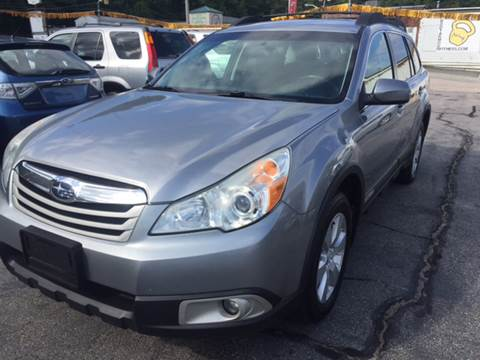 2011 Subaru Outback for sale at DISTINCTIVE MOTOR CARS UNLIMITED in Johnston RI
