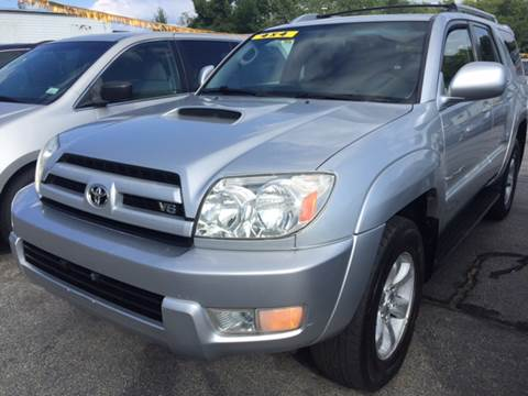2003 Toyota 4Runner for sale at DISTINCTIVE MOTOR CARS UNLIMITED in Johnston RI