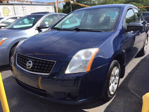 2008 Nissan Sentra for sale at DISTINCTIVE MOTOR CARS UNLIMITED in Johnston RI