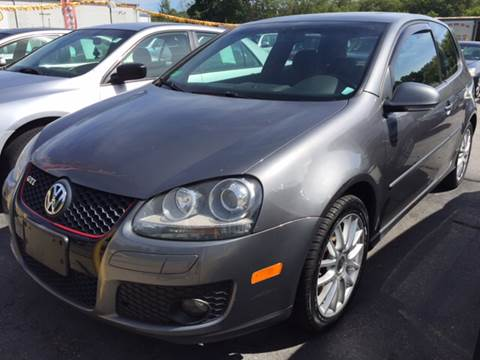 2007 Volkswagen GTI for sale at DISTINCTIVE MOTOR CARS UNLIMITED in Johnston RI