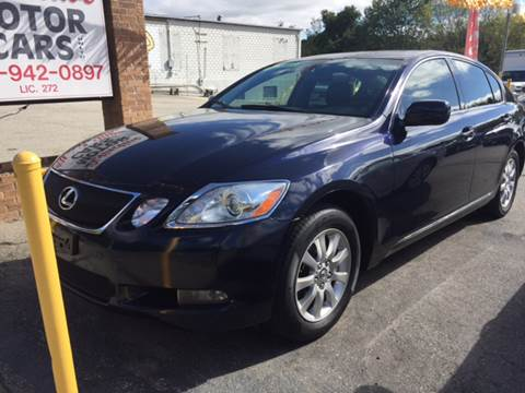 2006 Lexus GS 300 for sale at DISTINCTIVE MOTOR CARS UNLIMITED in Johnston RI