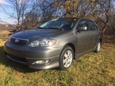 2008 Toyota Corolla for sale at DISTINCTIVE MOTOR CARS UNLIMITED in Johnston RI