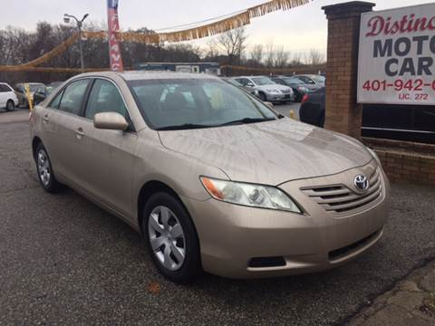 2008 Toyota Camry for sale at DISTINCTIVE MOTOR CARS UNLIMITED in Johnston RI
