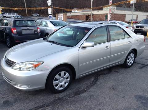 2003 Toyota Camry for sale at DISTINCTIVE MOTOR CARS UNLIMITED in Johnston RI