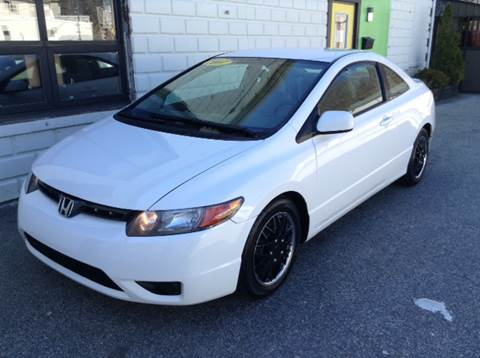 2007 Honda Civic for sale at DISTINCTIVE MOTOR CARS UNLIMITED in Johnston RI
