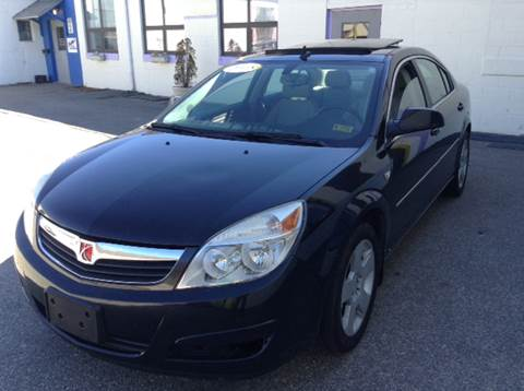 2008 Saturn Aura for sale at DISTINCTIVE MOTOR CARS UNLIMITED in Johnston RI