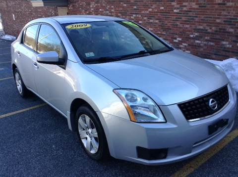 2009 Nissan Sentra for sale at DISTINCTIVE MOTOR CARS UNLIMITED in Johnston RI