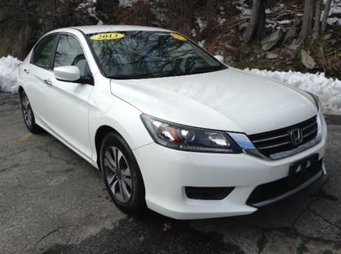 2013 Honda Accord for sale at DISTINCTIVE MOTOR CARS UNLIMITED in Johnston RI