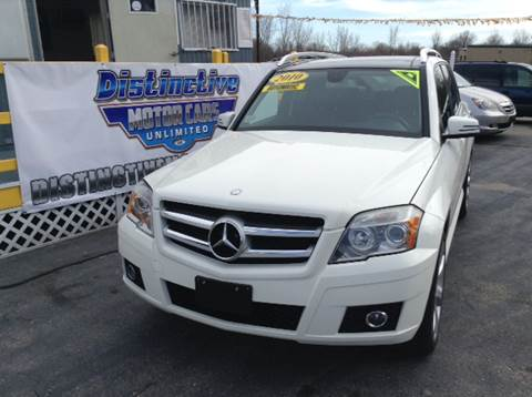 2010 Mercedes-Benz GLK for sale at DISTINCTIVE MOTOR CARS UNLIMITED in Johnston RI
