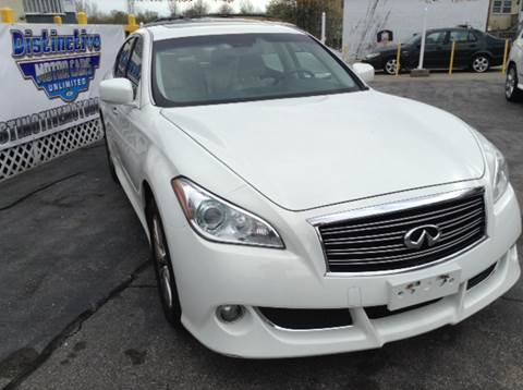 2012 Infiniti M37 for sale at DISTINCTIVE MOTOR CARS UNLIMITED in Johnston RI