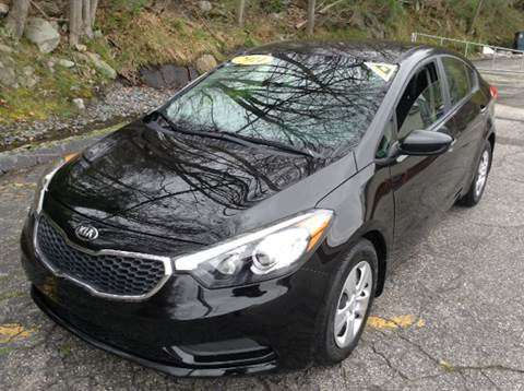 2014 Kia Forte for sale at DISTINCTIVE MOTOR CARS UNLIMITED in Johnston RI