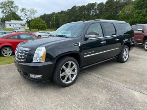 2011 Cadillac Escalade ESV for sale at Freeman Motor Company in Lawrenceville VA
