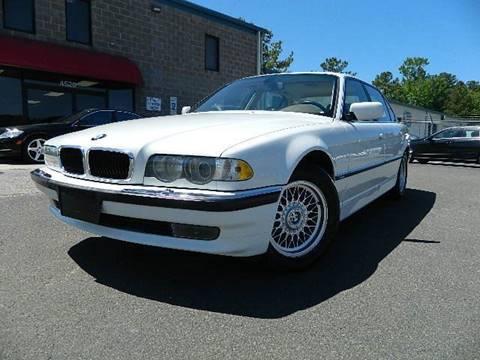 2001 BMW 7 Series for sale at Euroclassics LTD in Durham NC