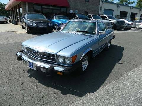 1985 Mercedes-Benz 380-Class for sale at Euroclassics LTD in Durham NC