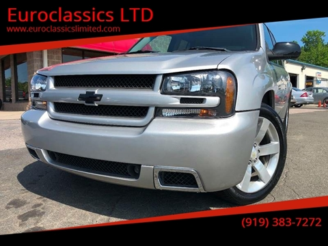 2008 Chevrolet TrailBlazer for sale at Euroclassics LTD in Durham NC