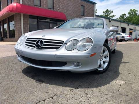 2003 Mercedes-Benz SL-Class for sale at Euroclassics LTD in Durham NC