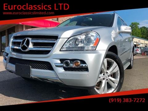 2011 Mercedes-Benz GL-Class for sale at Euroclassics LTD in Durham NC