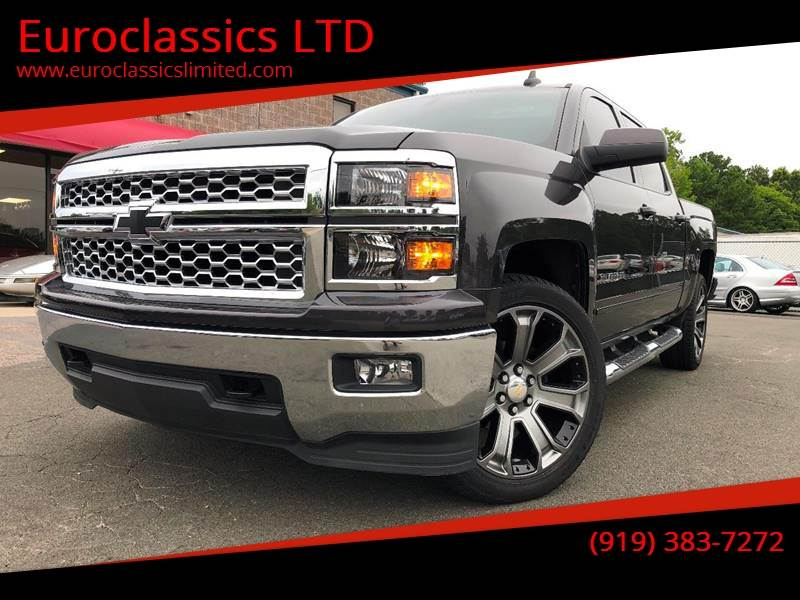 2015 Chevrolet Silverado 1500 for sale at Euroclassics LTD in Durham NC