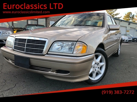 2000 Mercedes-Benz C-Class for sale at Euroclassics LTD in Durham NC