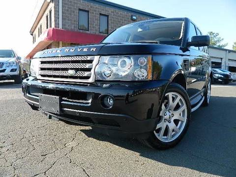 2008 Land Rover Range Rover Sport for sale at Euroclassics LTD in Durham NC