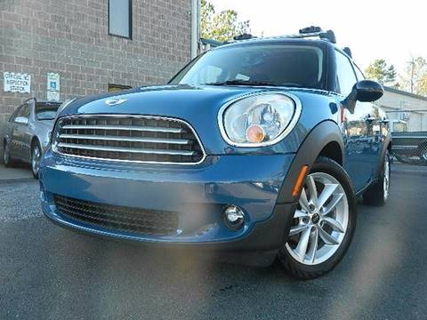 2011 MINI Cooper Countryman for sale at Euroclassics LTD in Durham NC