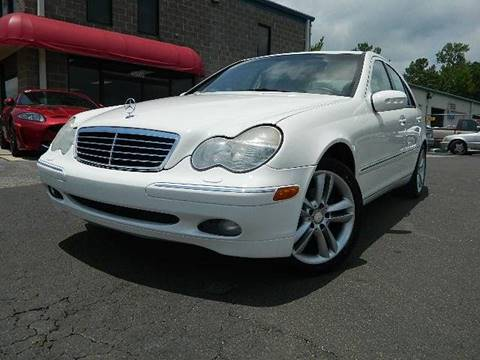 2002 Mercedes-Benz C-Class for sale at Euroclassics LTD in Durham NC