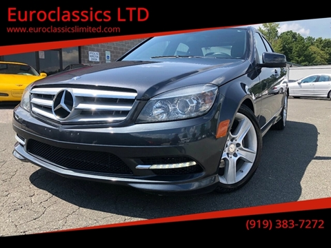 2011 Mercedes-Benz C-Class for sale at Euroclassics LTD in Durham NC