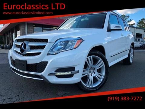 2013 Mercedes-Benz GLK for sale at Euroclassics LTD in Durham NC